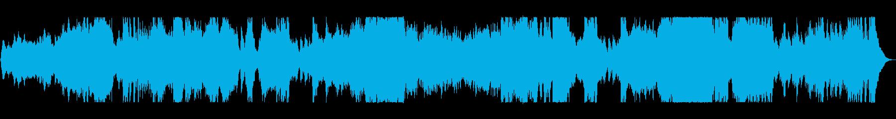 壮大で大迫力トランペット金管楽器サウンドの再生済みの波形
