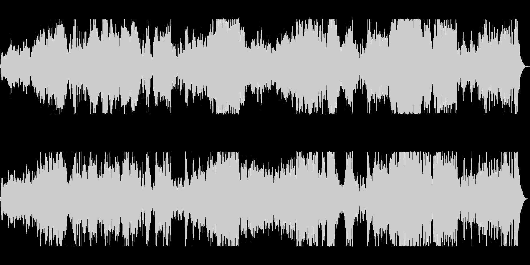 壮大で大迫力トランペット金管楽器サウンドの未再生の波形