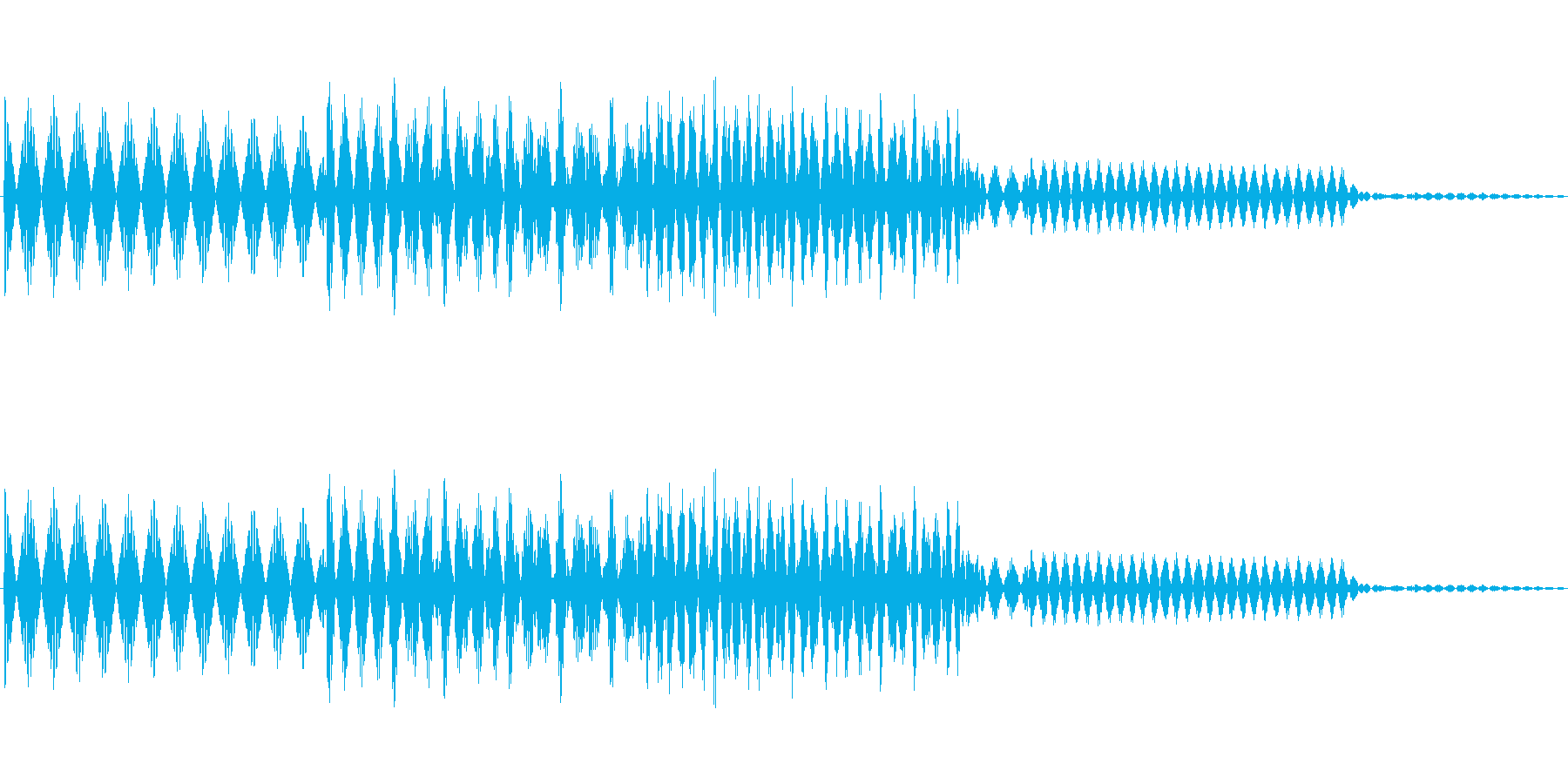 ボタン決定音システム選択タッチ登録C06の再生済みの波形