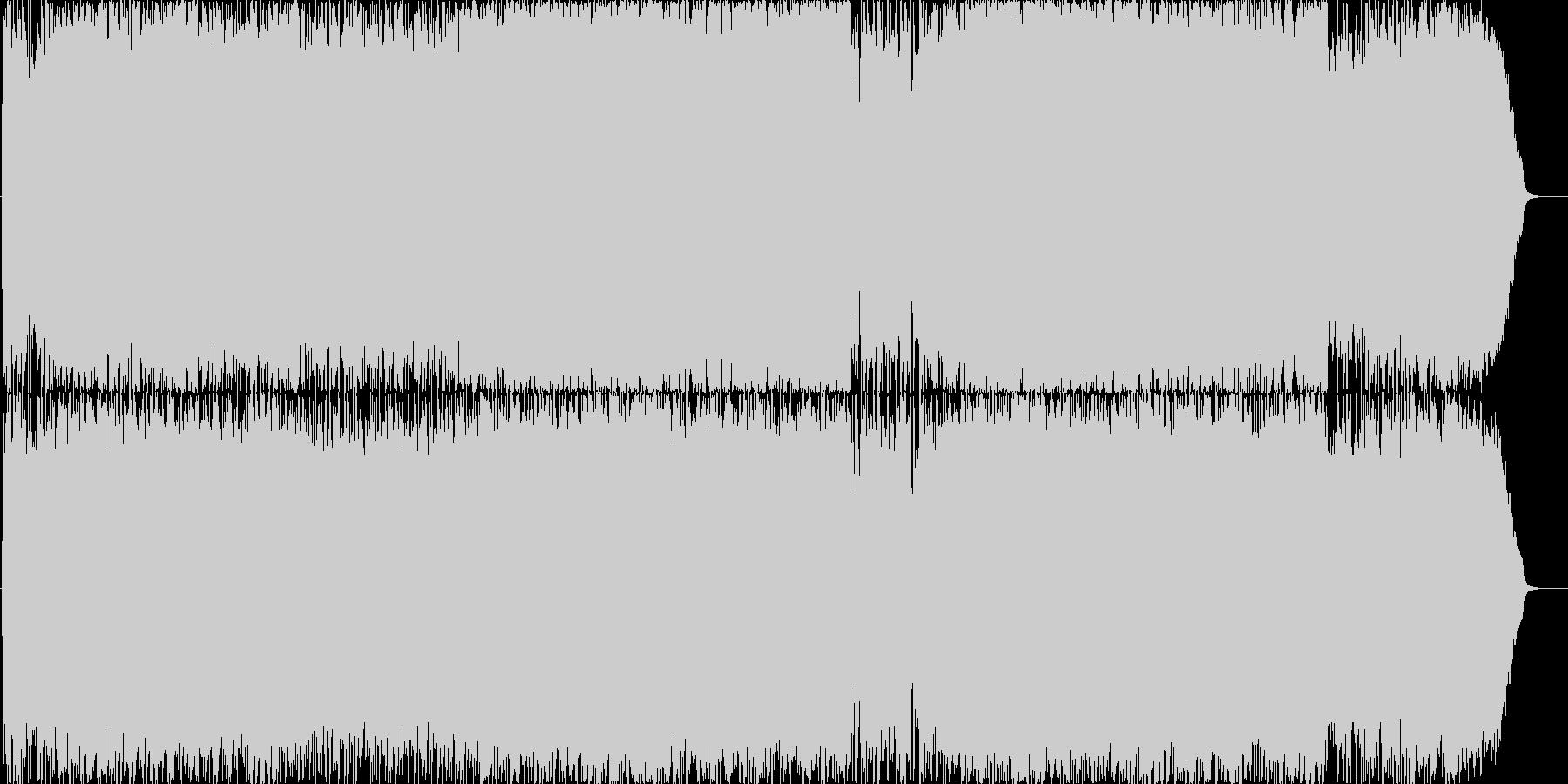 オーケストラ&バンドのOP曲の未再生の波形