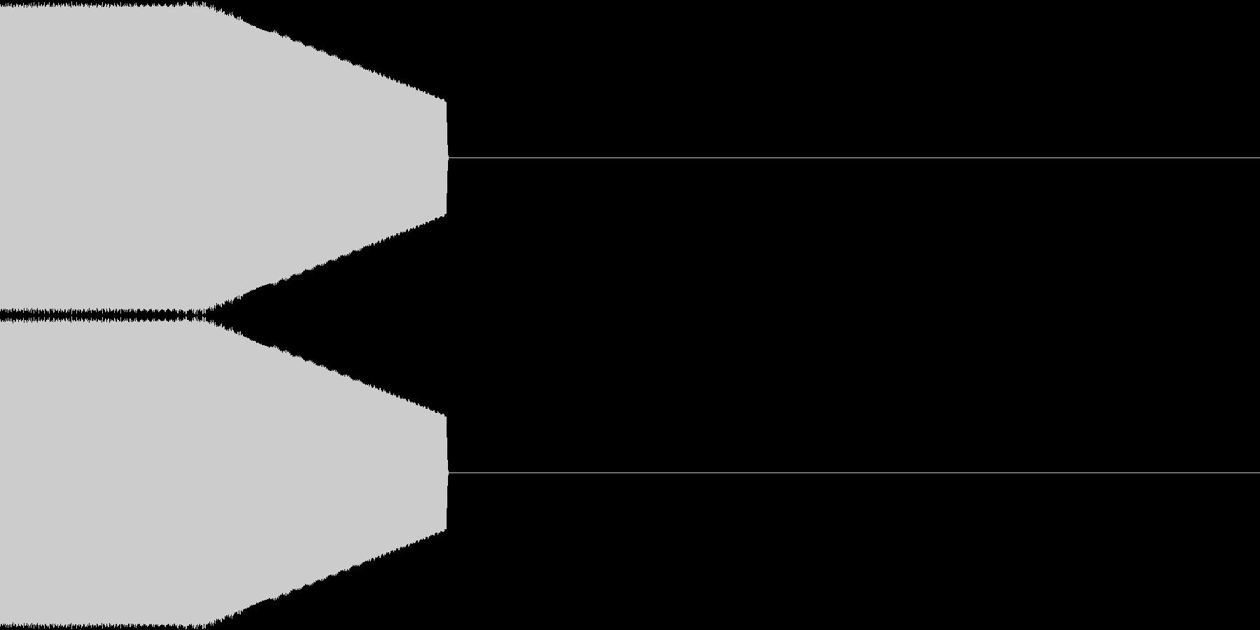 決定音・選択音・入手音【2】の未再生の波形