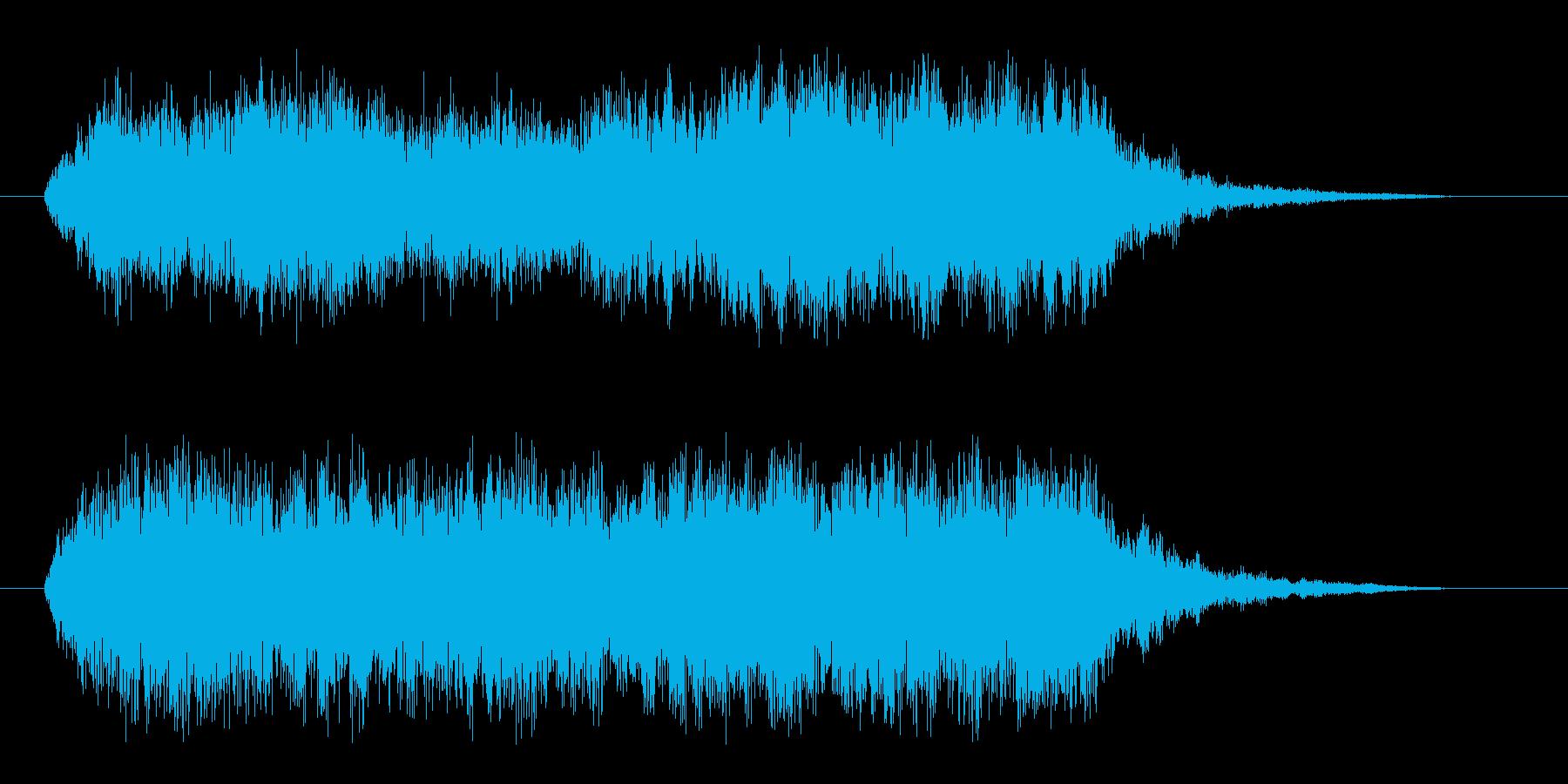 ファンタジーな合唱とストリングス 壮麗にの再生済みの波形