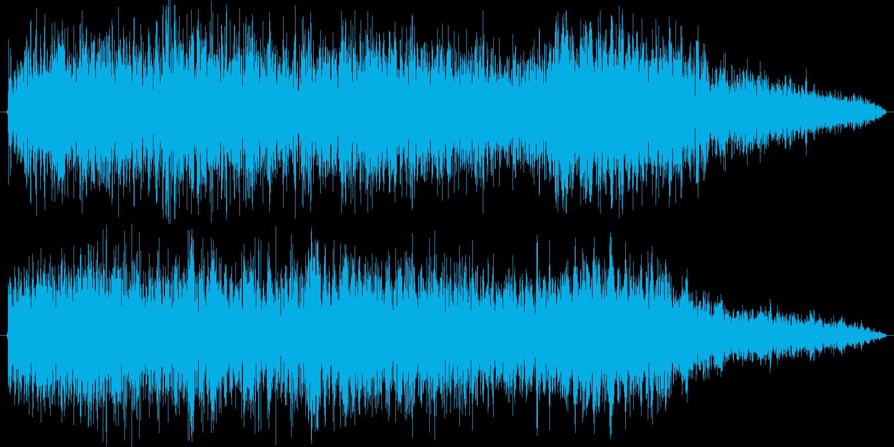 ガオーグオーの再生済みの波形