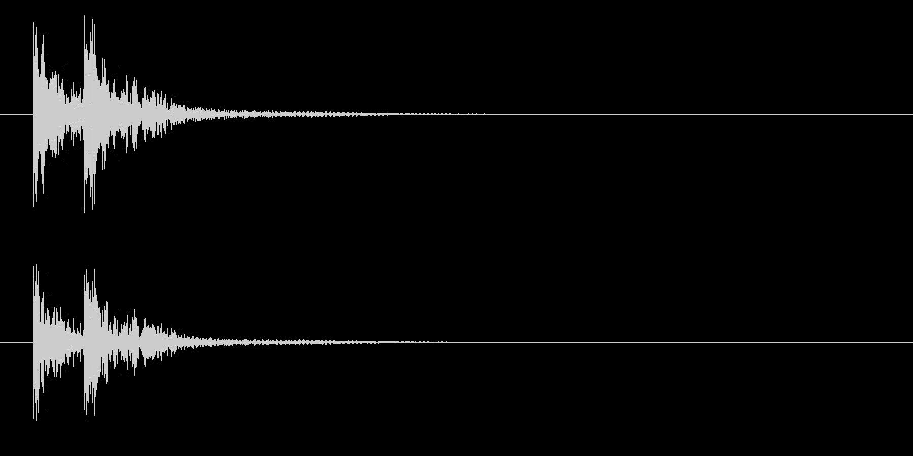 トタンの未再生の波形
