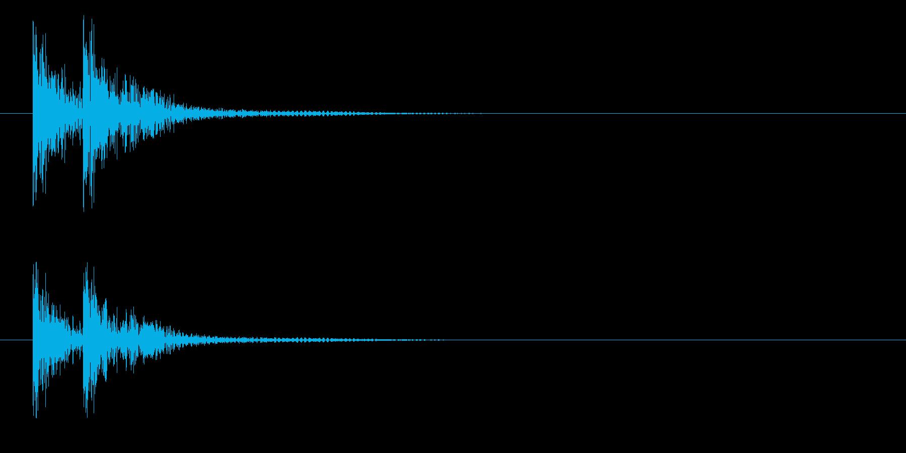 トタンの再生済みの波形