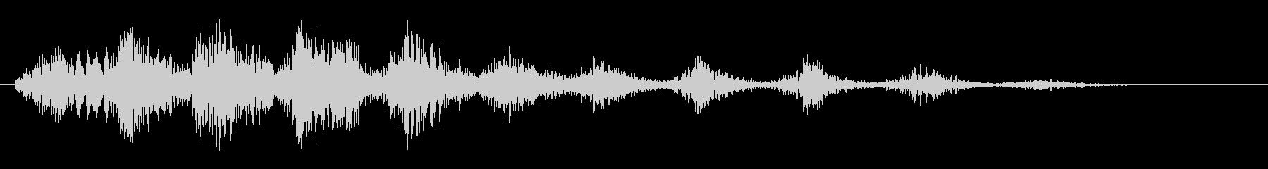 笑い声(無機質、宇宙人、コミカル)の未再生の波形