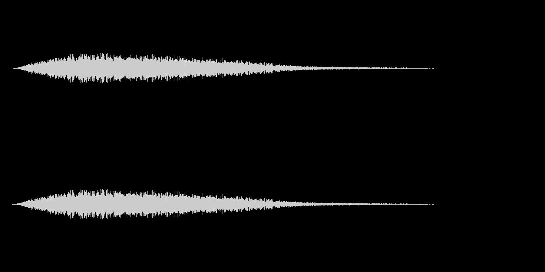 【風 合成02-2】の未再生の波形