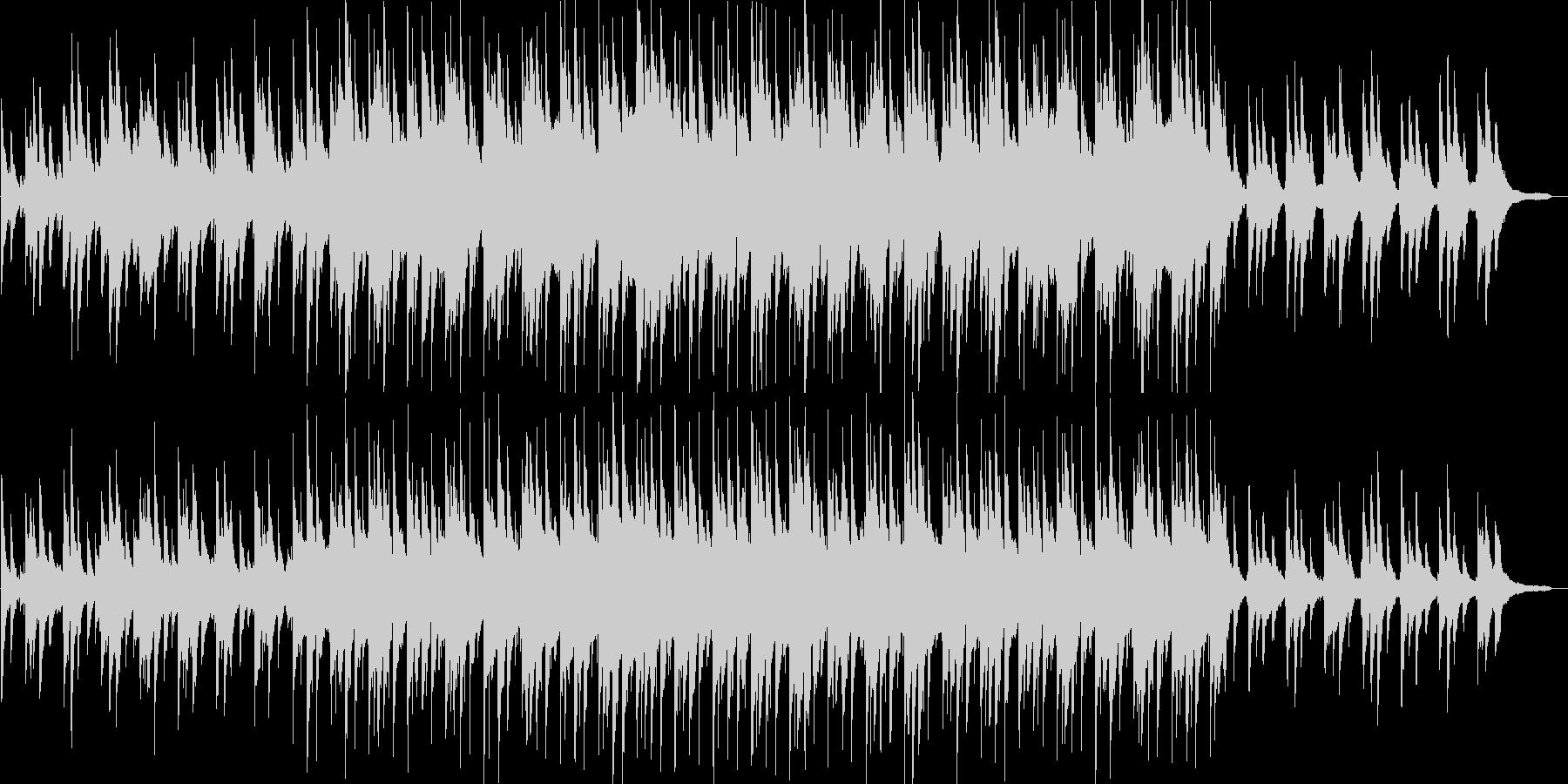 感動的・スウィング調・映像・イベント用の未再生の波形