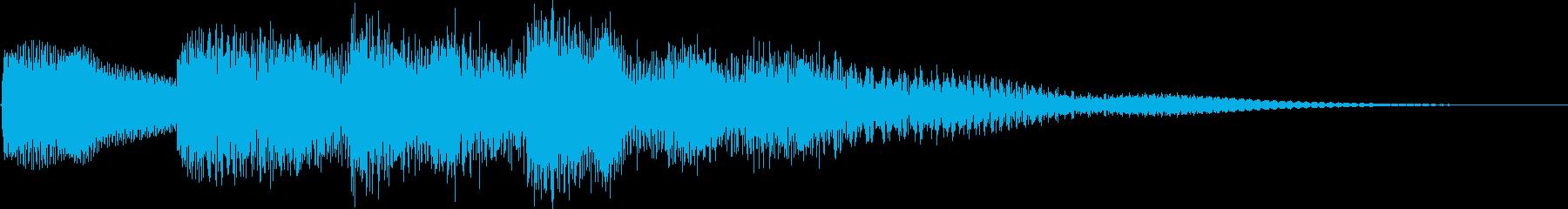 キンコンカンコン(呼び出し チャイム)の再生済みの波形