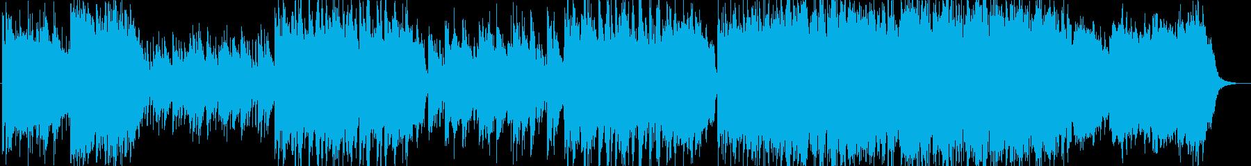 洋楽のような雰囲気のミディアムバラードの再生済みの波形