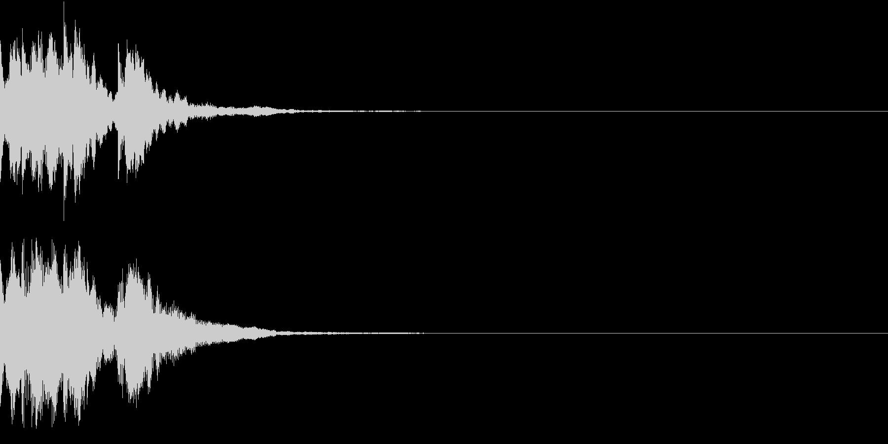 レベルアップ アイテム 入手 発見 ベルの未再生の波形
