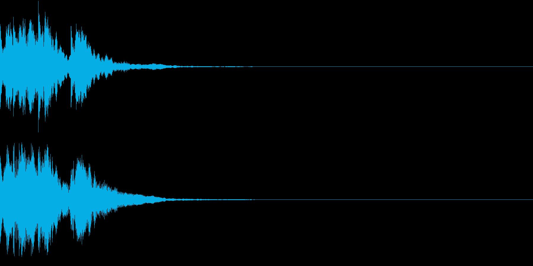 レベルアップ アイテム 入手 発見 ベルの再生済みの波形