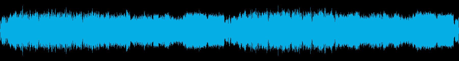 ループ可/ファンタジー系のストリングスの再生済みの波形