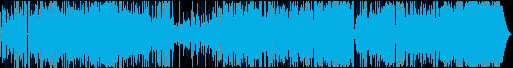 FunkyなJazzチューン!の再生済みの波形