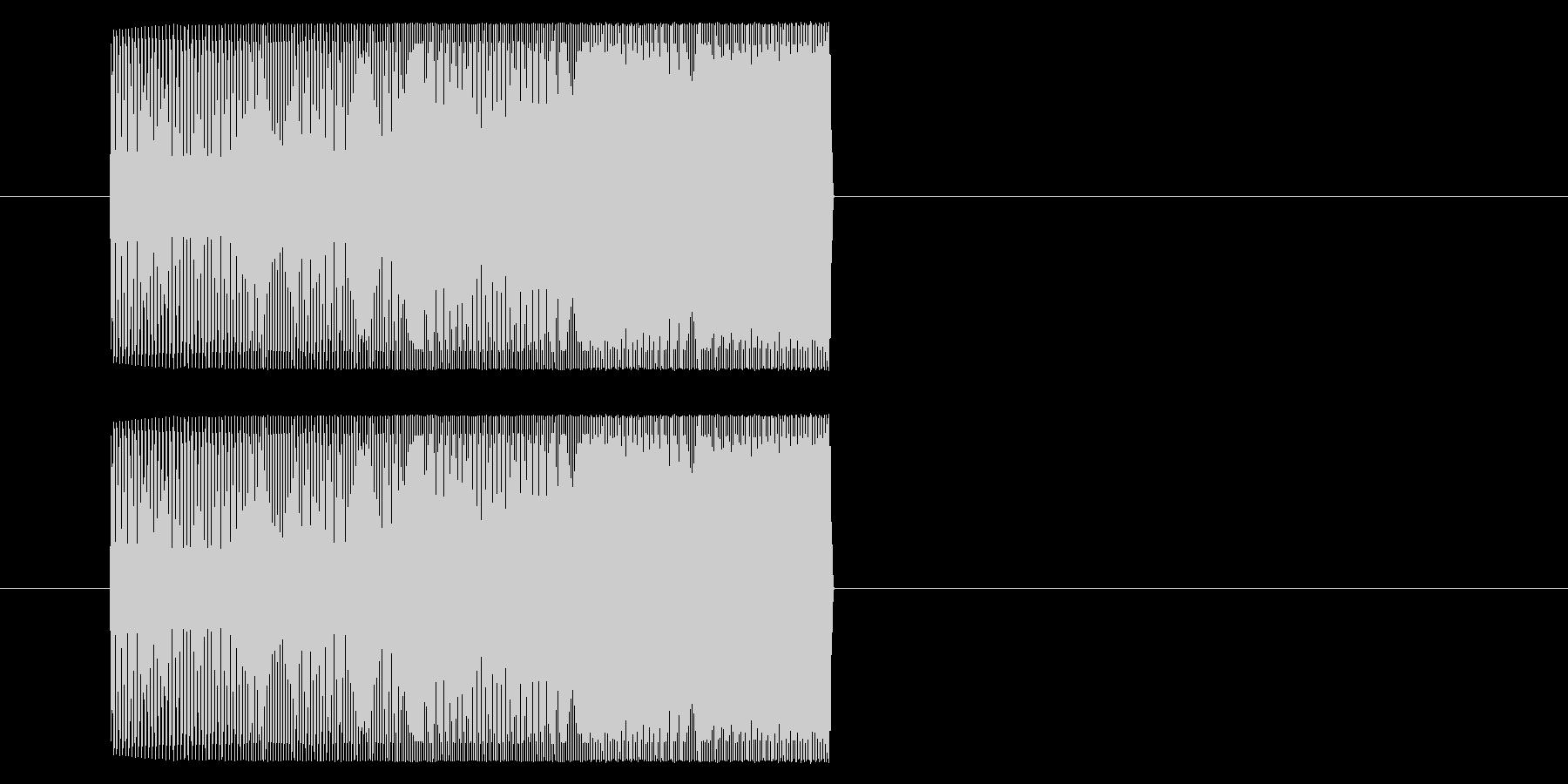 【アーケード 汎用01-10(ピッチ)】の未再生の波形