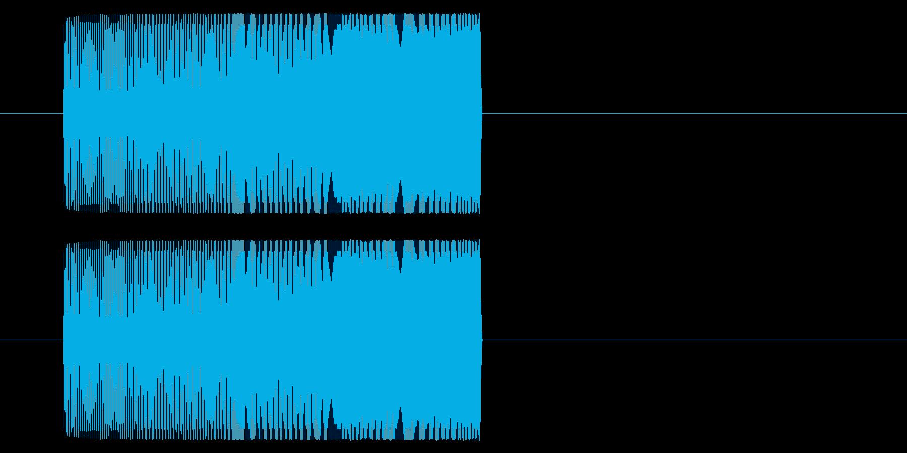 【アーケード 汎用01-10(ピッチ)】の再生済みの波形