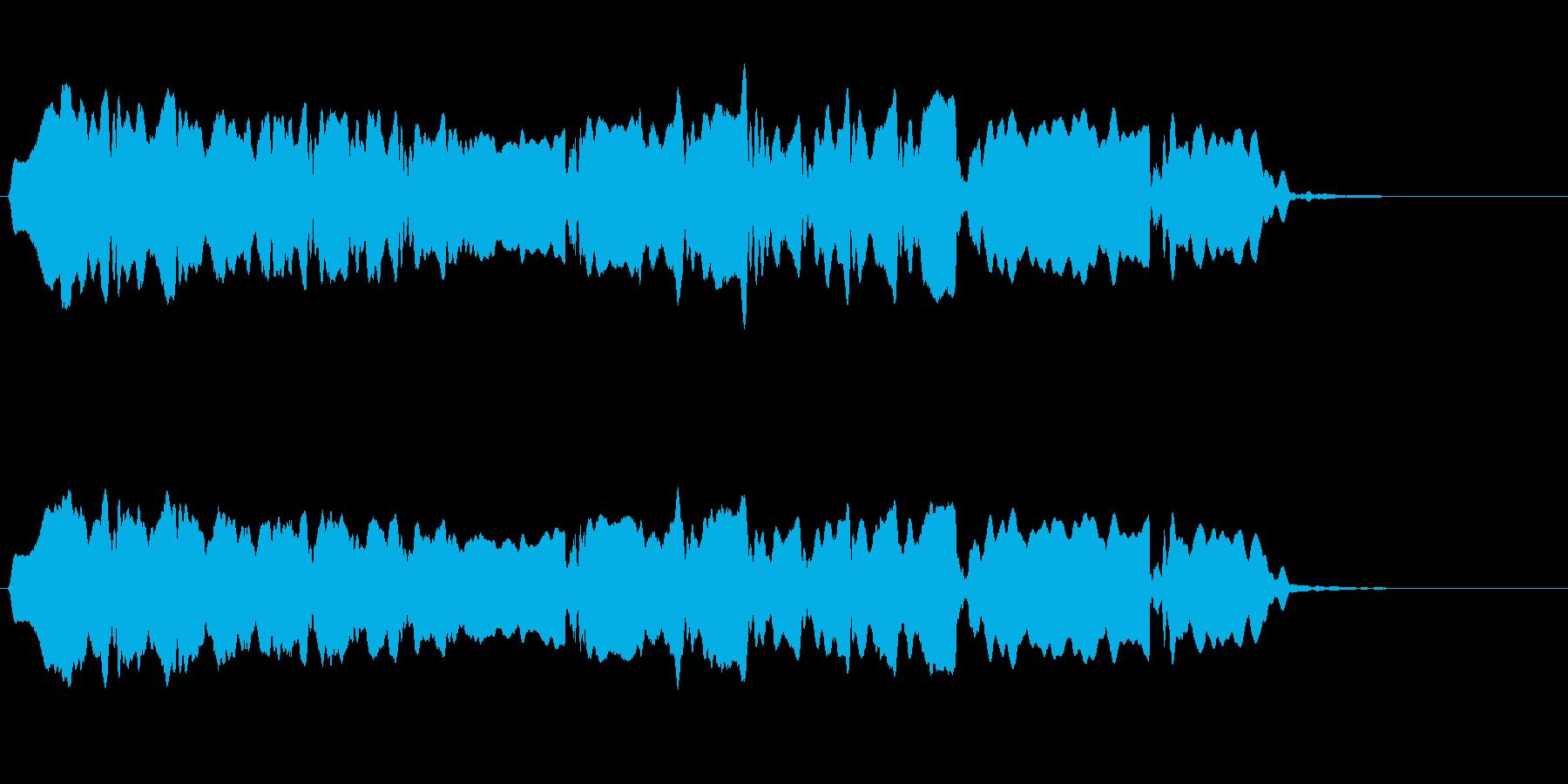 音侍SE「尺八フレーズ1」エニグマ音12の再生済みの波形