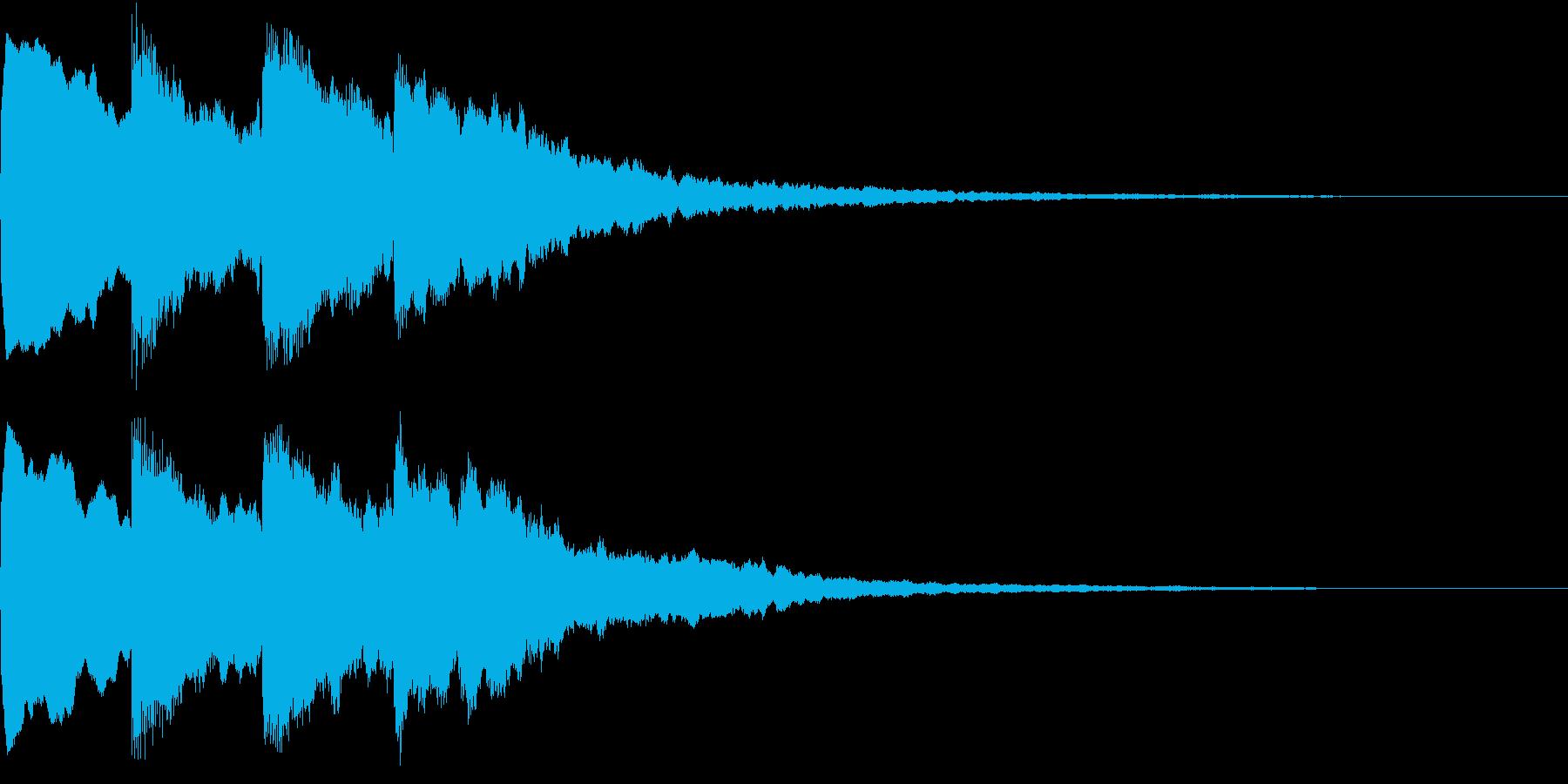 シンプル アナウンス 案内 放送 11の再生済みの波形