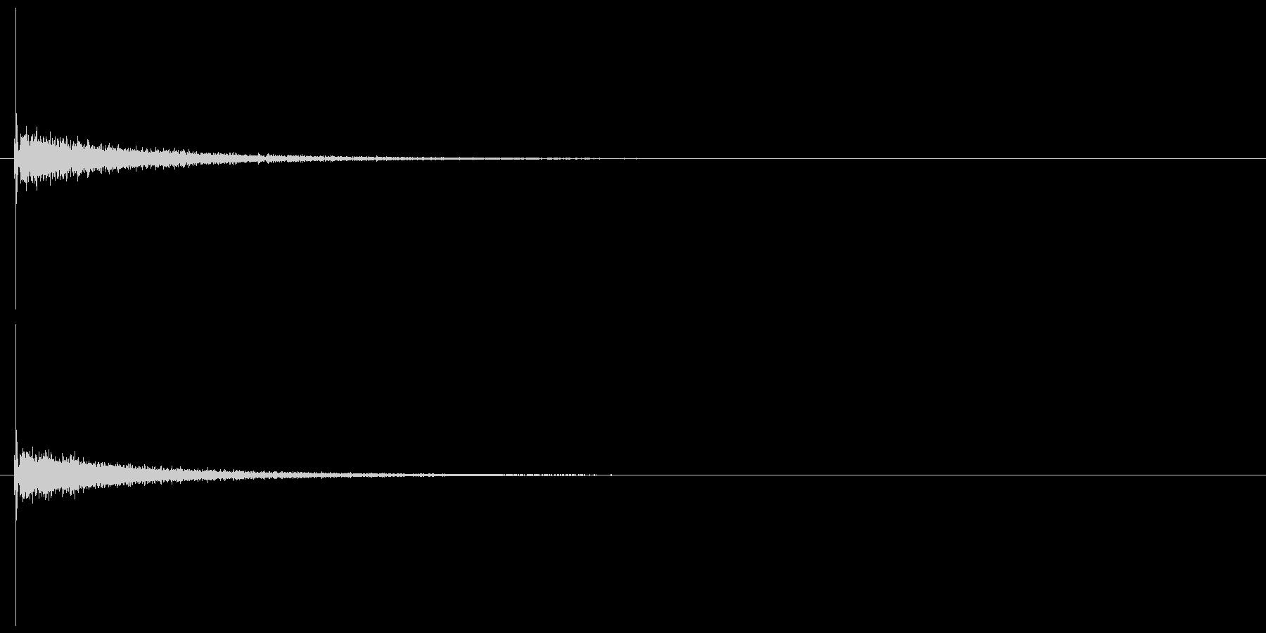 【キータイプ】入力・エンターキーの未再生の波形