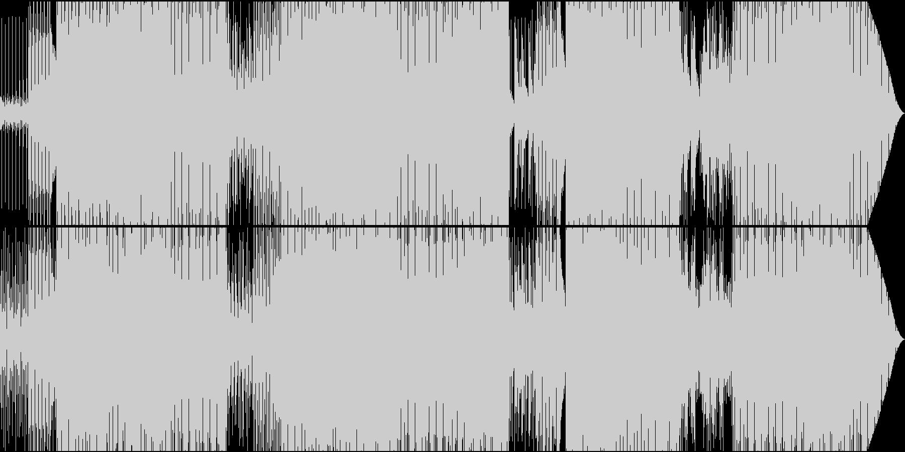 70'~80'年代のディスコ風06の未再生の波形