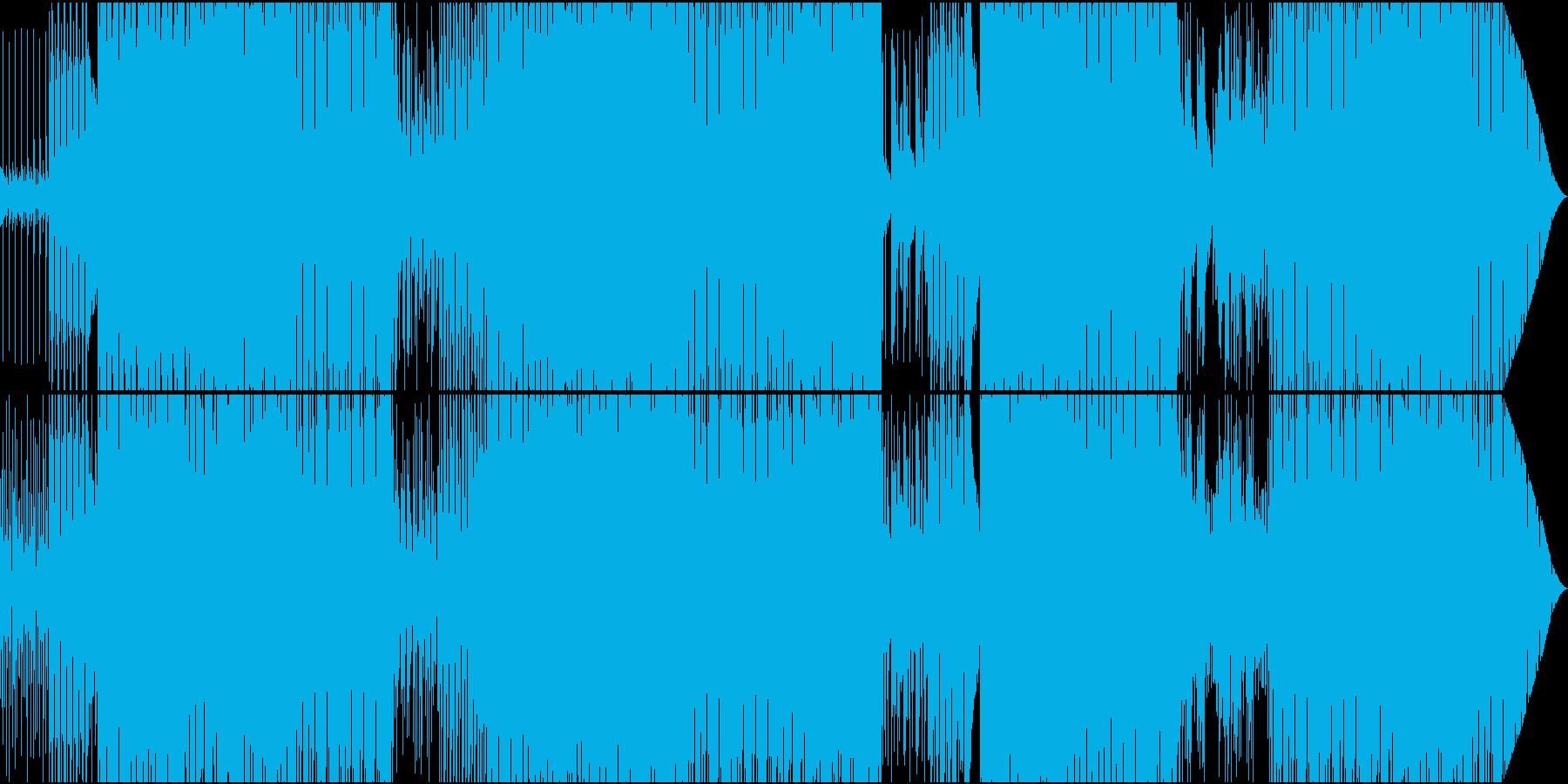 70'~80'年代のディスコ風06の再生済みの波形