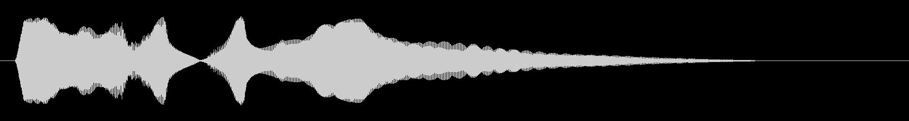 キュイーン(金属音系)の未再生の波形