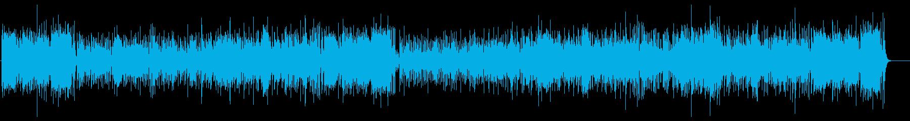 メリハリ抜群エンタテイメント・サウンドの再生済みの波形