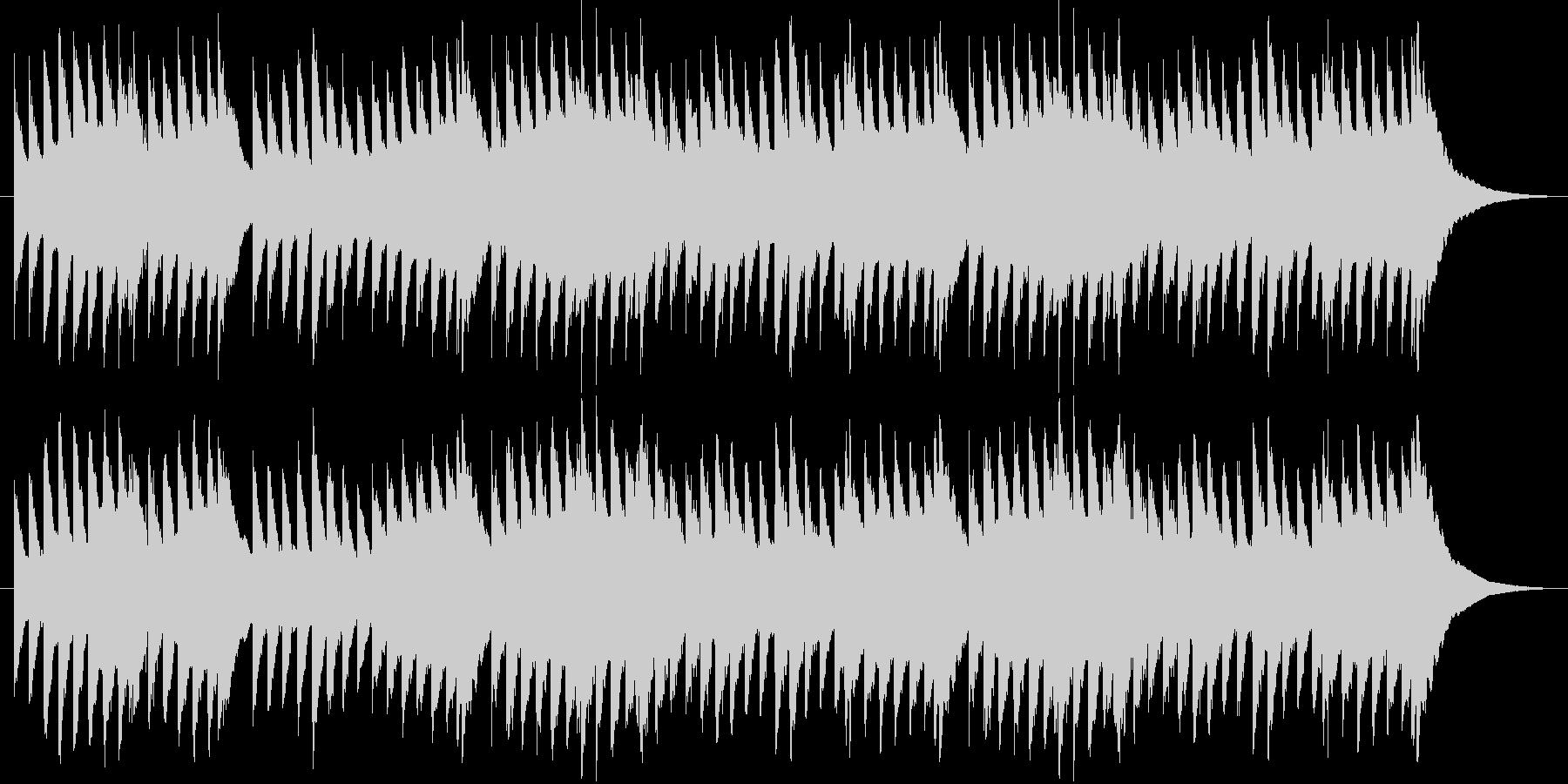 喜びのうたのオルゴールの未再生の波形