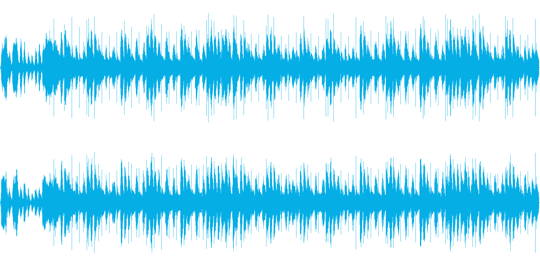 オーケストラ ゲームの場面転換などの再生済みの波形