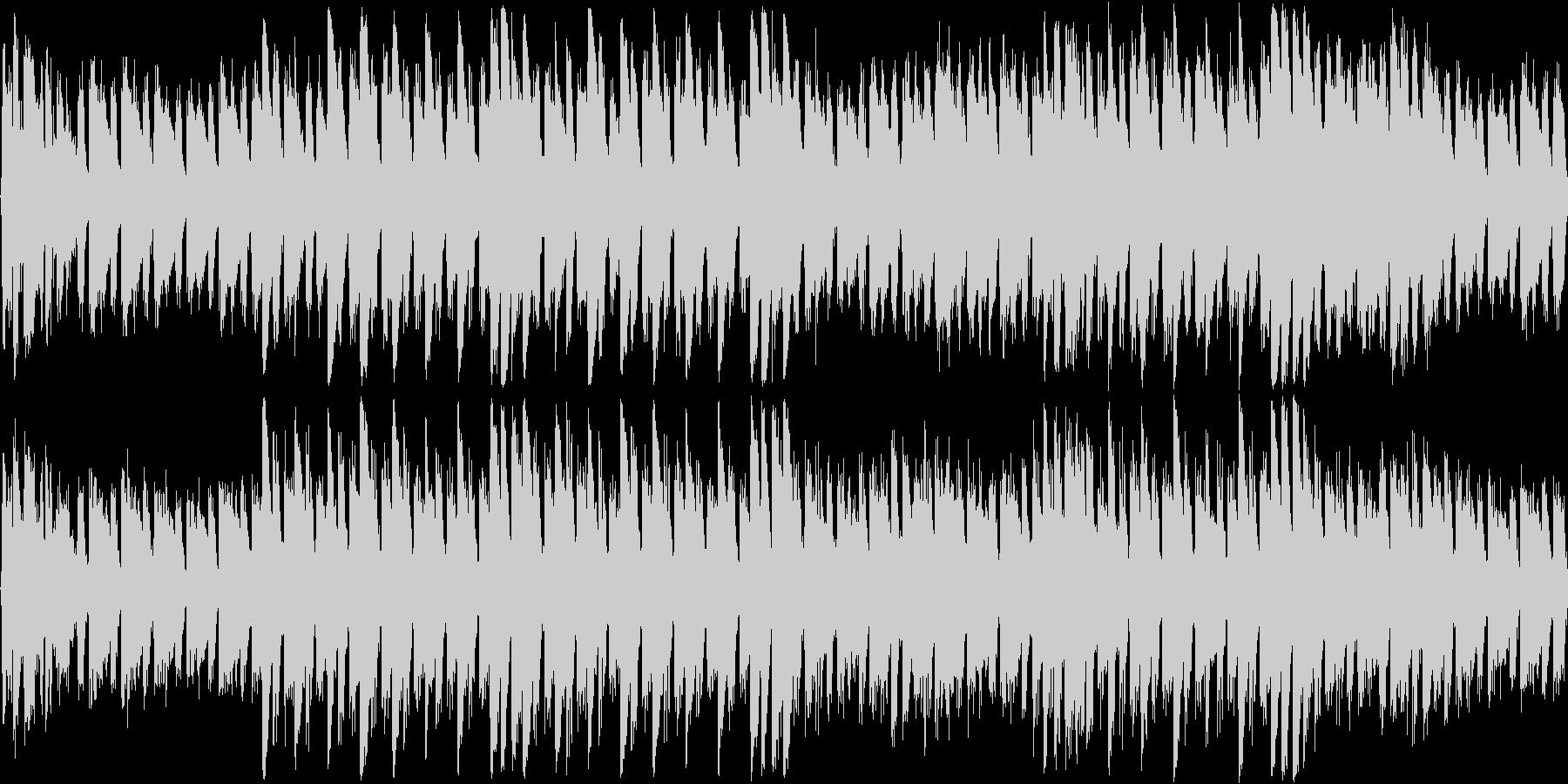 3拍子のモダン系ホラー曲です。頭に狼の…の未再生の波形