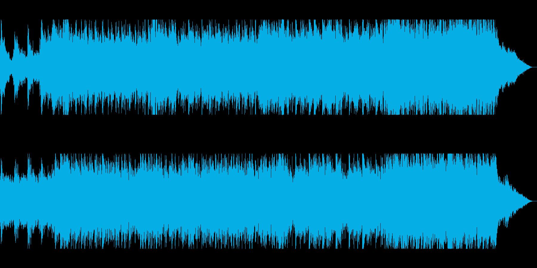 バイオリンの音色が美しく響いたサウンドの再生済みの波形