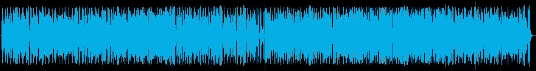 懐かしい感じの軽快なOP系インストの再生済みの波形