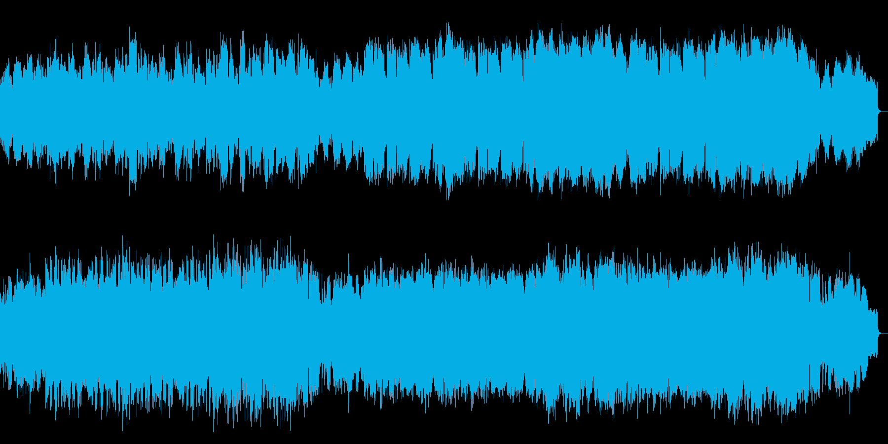 ピアノ中心の優しい演歌風メロディアス楽曲の再生済みの波形