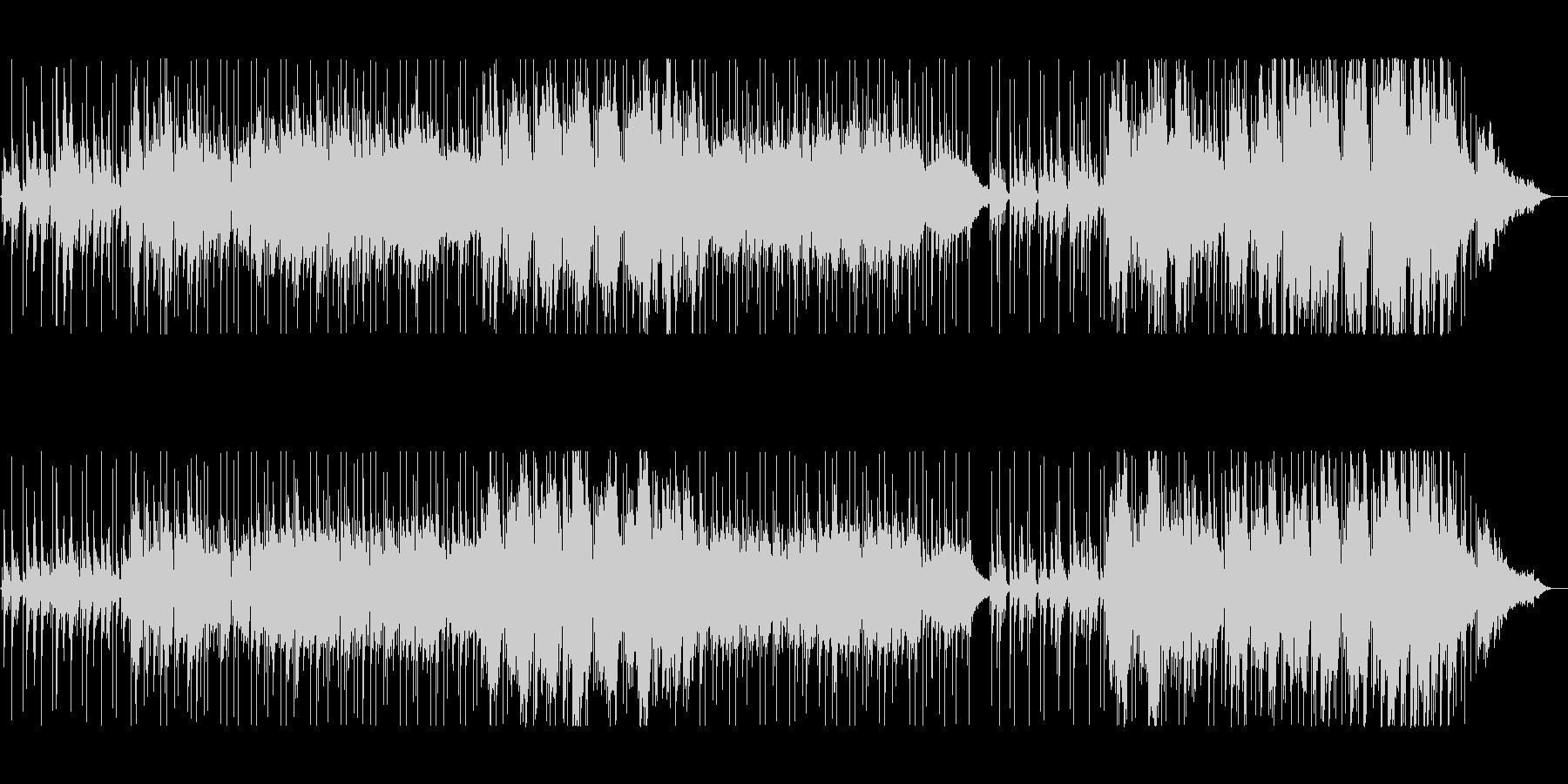 ピアノメインのしっとりとしたバラードの未再生の波形