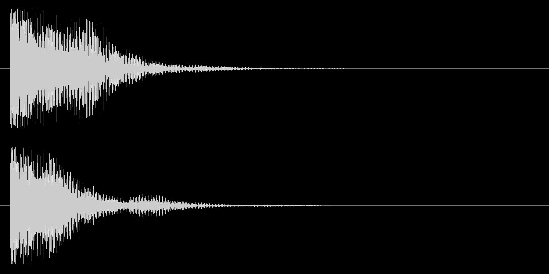 コワーン(響き有)の未再生の波形