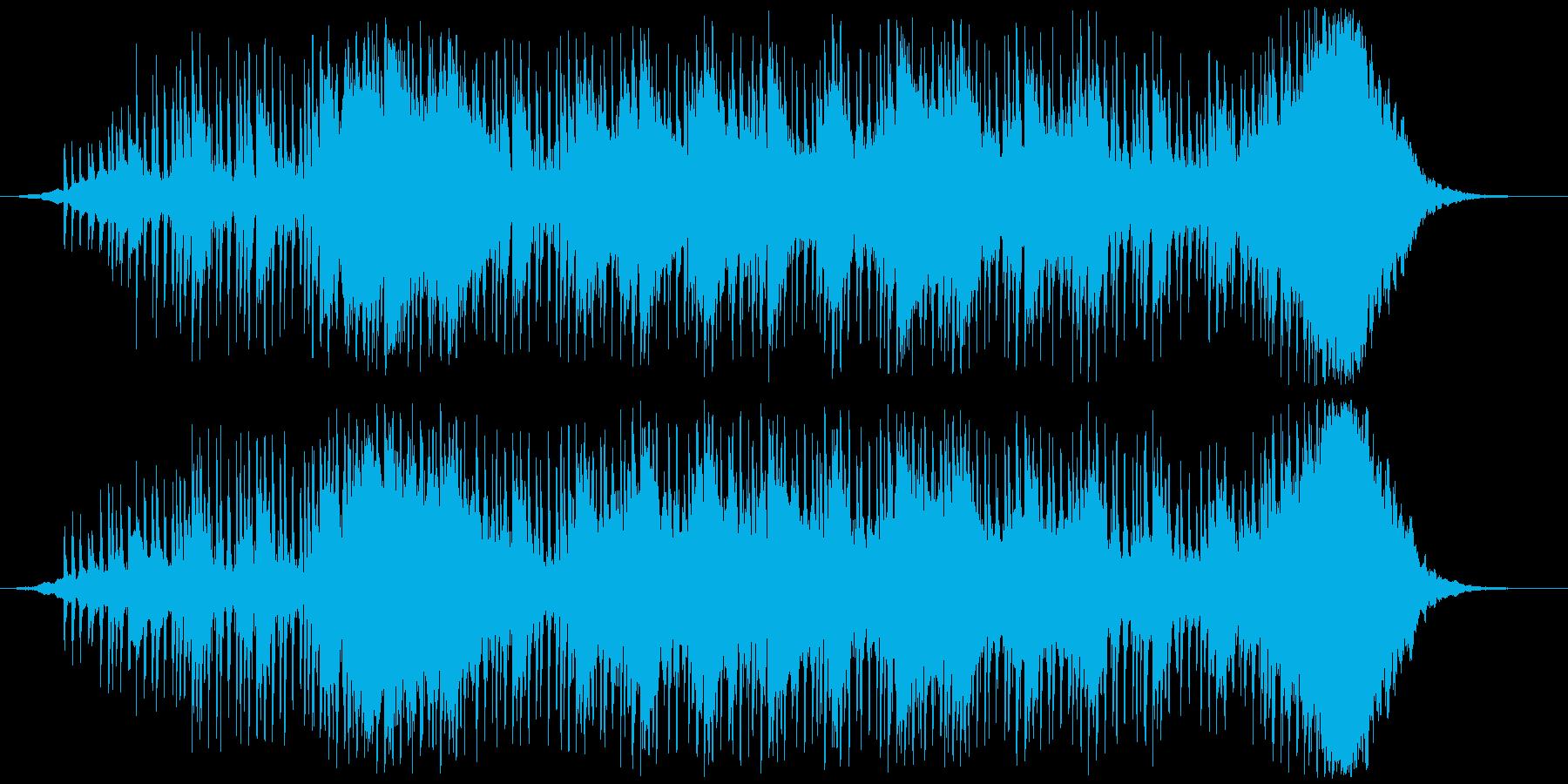 ヘビーなエレクトロニカの再生済みの波形