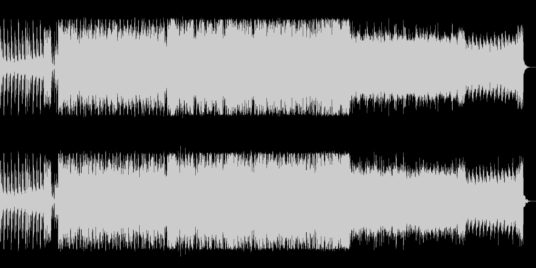 電子音が特徴的な軽快で楽しいポップスの未再生の波形