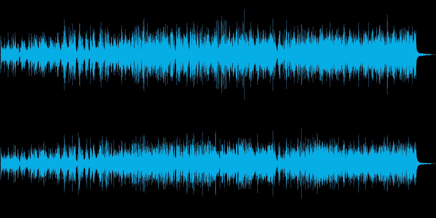 がんばる!イメージ、ダイナミックなピアノの再生済みの波形