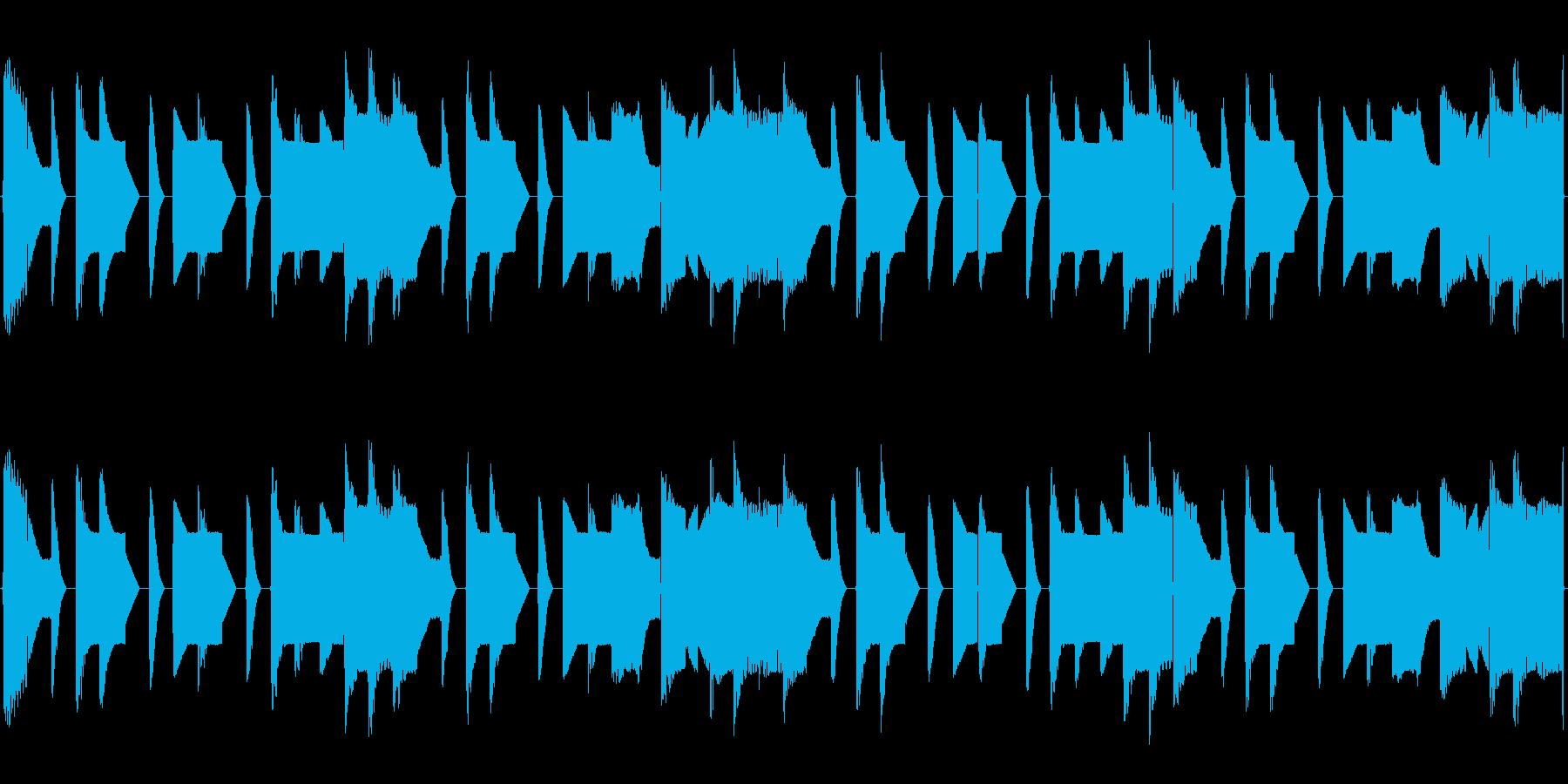 チップチューンの短いループ2の再生済みの波形