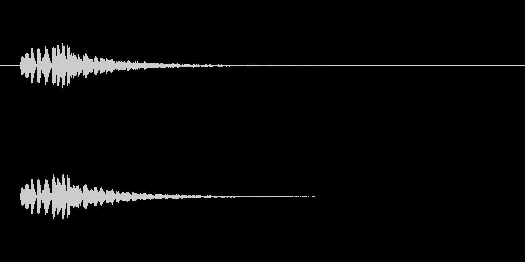 【ショートブリッジ17-4】の未再生の波形