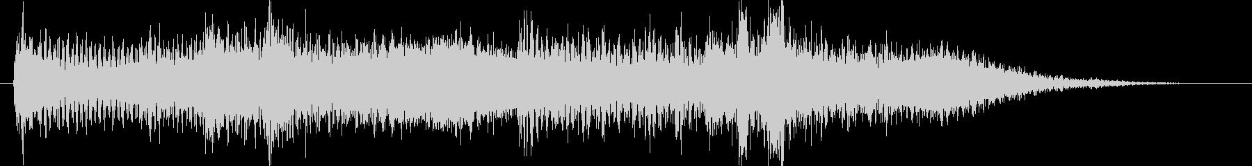 和風サウンドロゴ琴和太鼓のクリック音源の未再生の波形