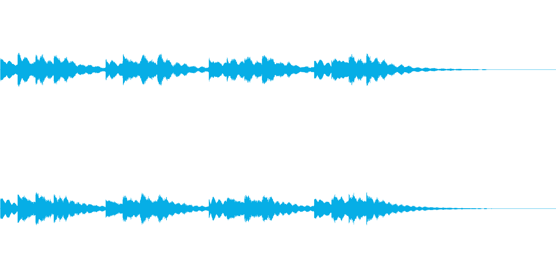 【チャイム 学校01-1】の再生済みの波形