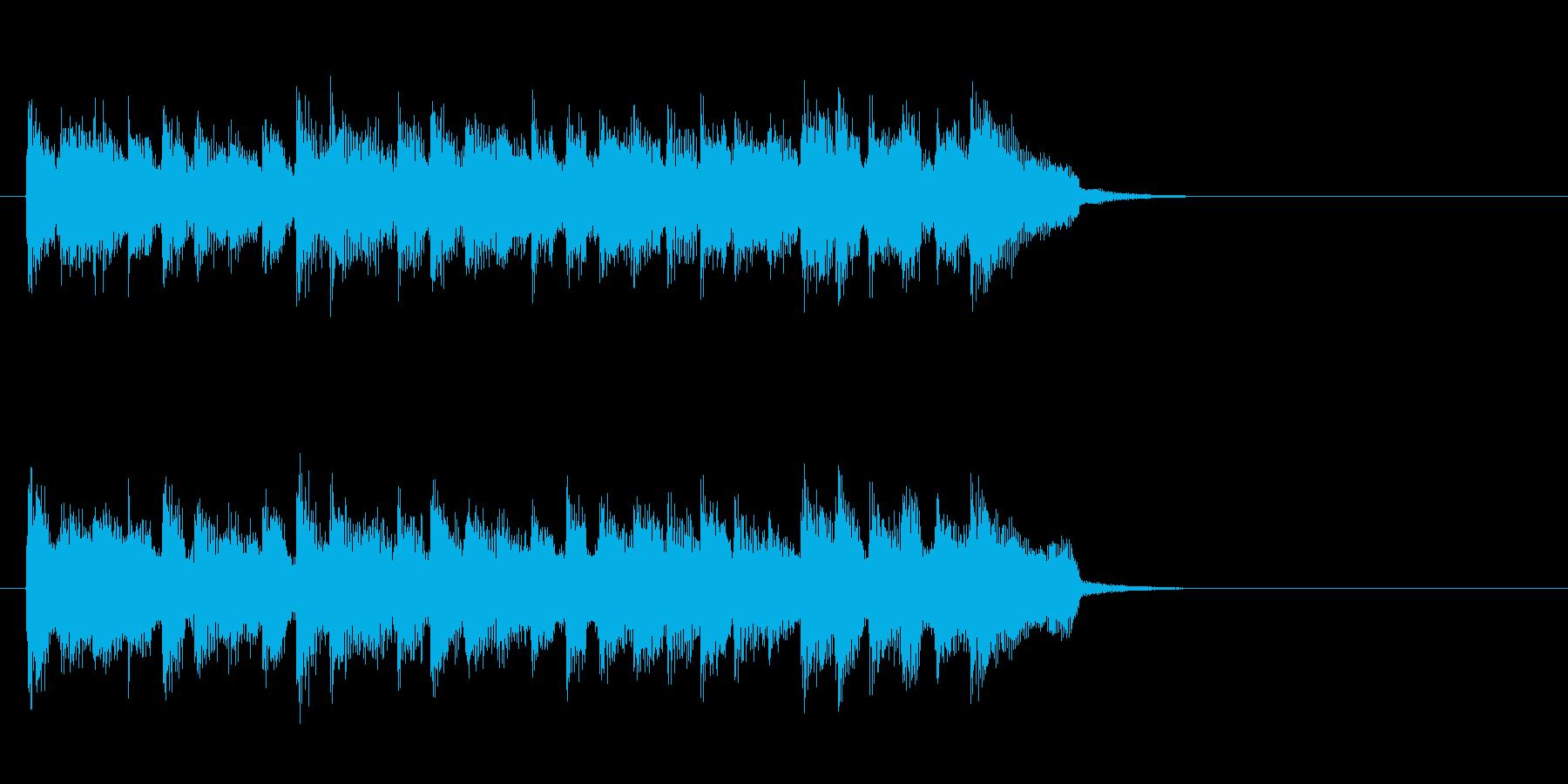 スローなピアノバラード(イントロ)の再生済みの波形