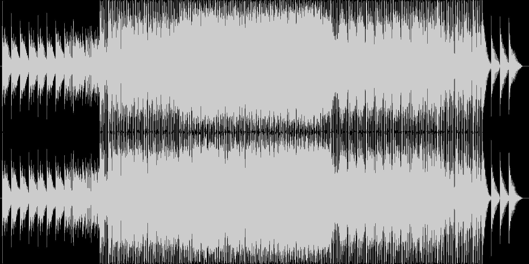 セツナ系の温かいポップスの未再生の波形