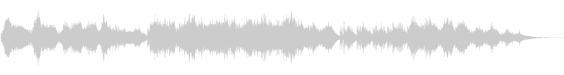 ピアノとストリングスの優しい曲08の未再生の波形