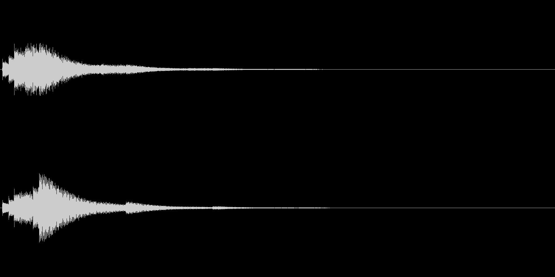 【ショートブリッジ02-2】の未再生の波形