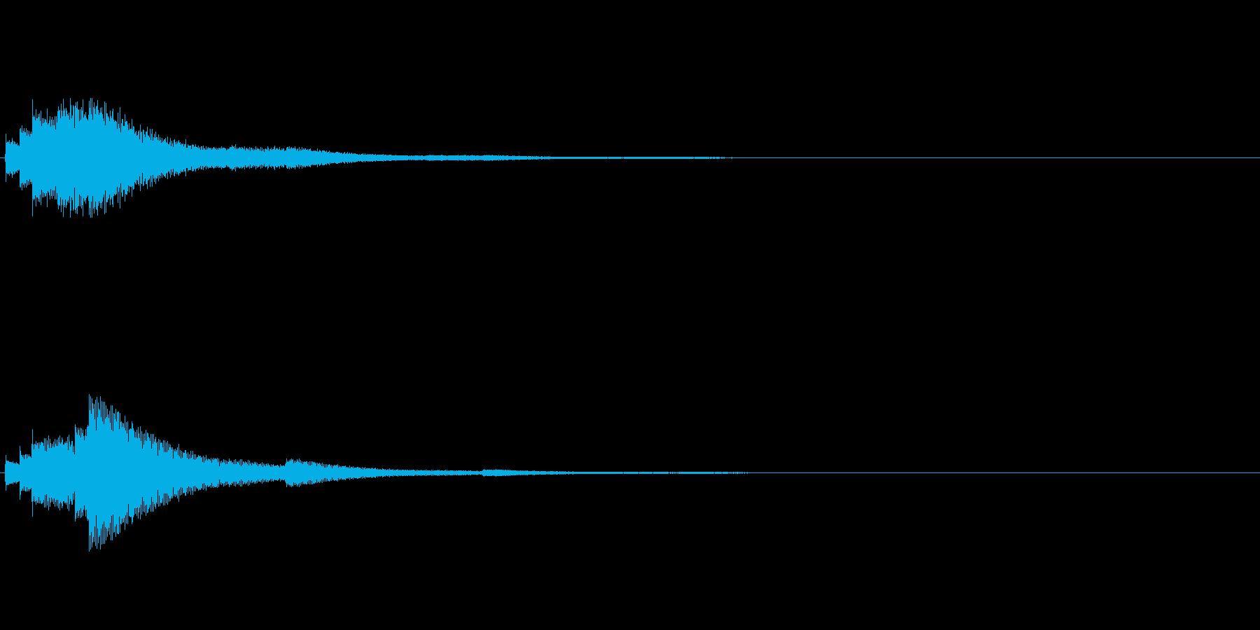 【ショートブリッジ02-2】の再生済みの波形