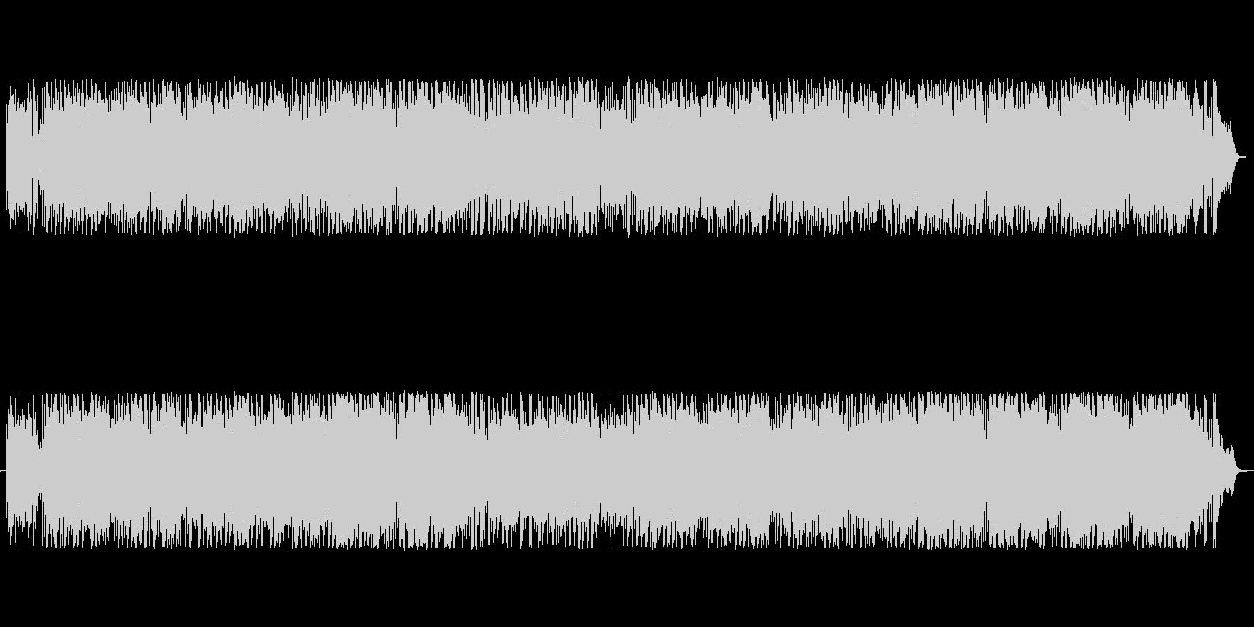 カントリー・ケルト風の軽快な曲の未再生の波形