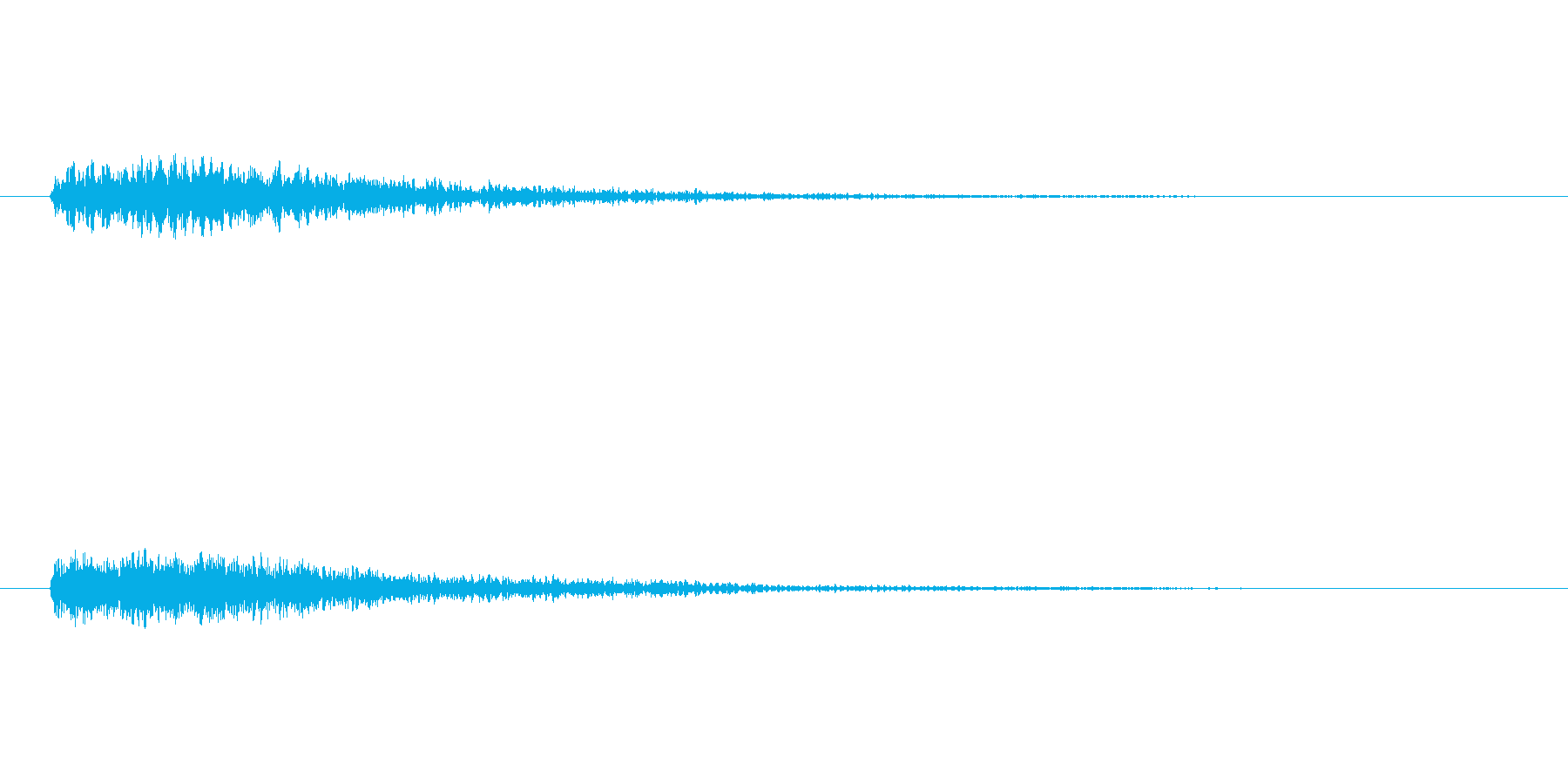 ドドーン!(重大発表とかで聴く音)の再生済みの波形