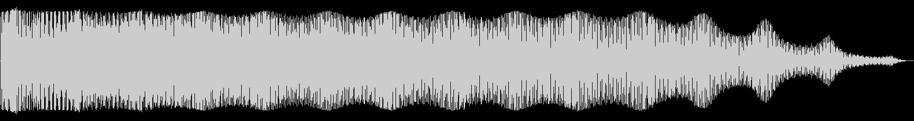 グワングワン(騒音)の未再生の波形